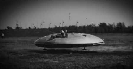 1960s: SAUCER HOVER CAR