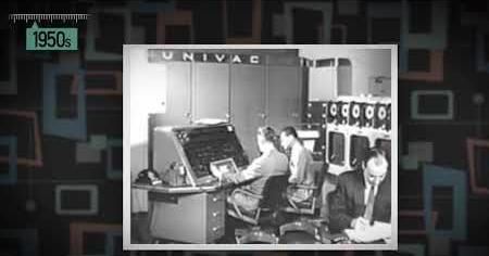1950s: UNIVAC