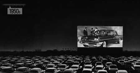 1950s: DRIVE IN THEATERS