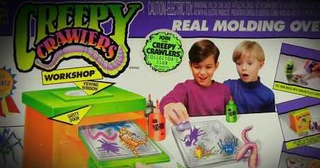 1960s: CREEPY CRAWLERS