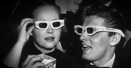 1950s: MOVIE POPCORN