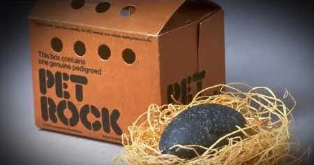 1970s: PET ROCK MOOD RING