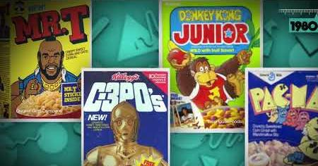 1980s: CEREALS OF THE 80S