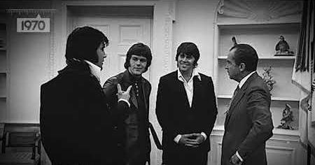 1970s: ELVIS AND NIXON