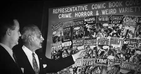 1950s: HORROR COMICS