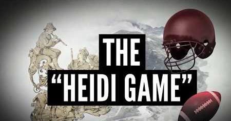 1960s: HEIDI GAME