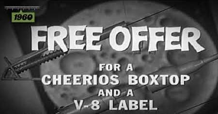1960s: CHEERIOS V8 COMMERCIAL