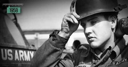 1950s: ELVIS IN THE ARMY