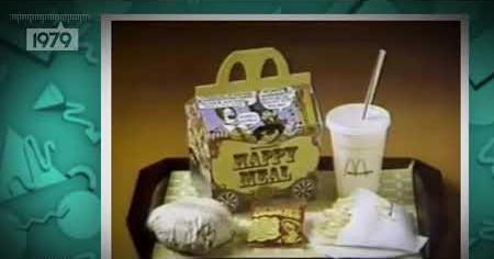 1980s: HAPPY MEALS