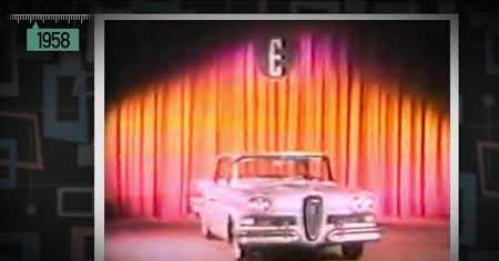 1950s: THE EDSEL