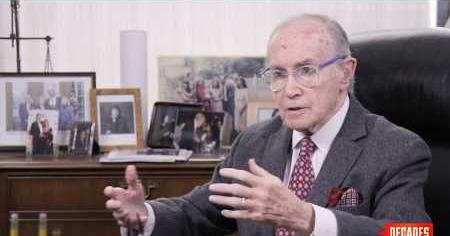 Newt Minow remembers the 1968 Democratic National Convention.